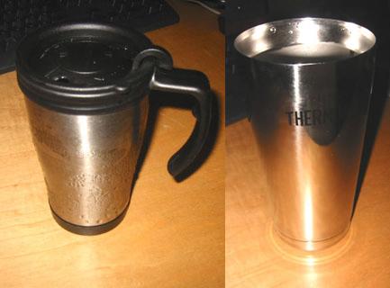 結露しない・保温持続の真空断熱マグカップ・コップ