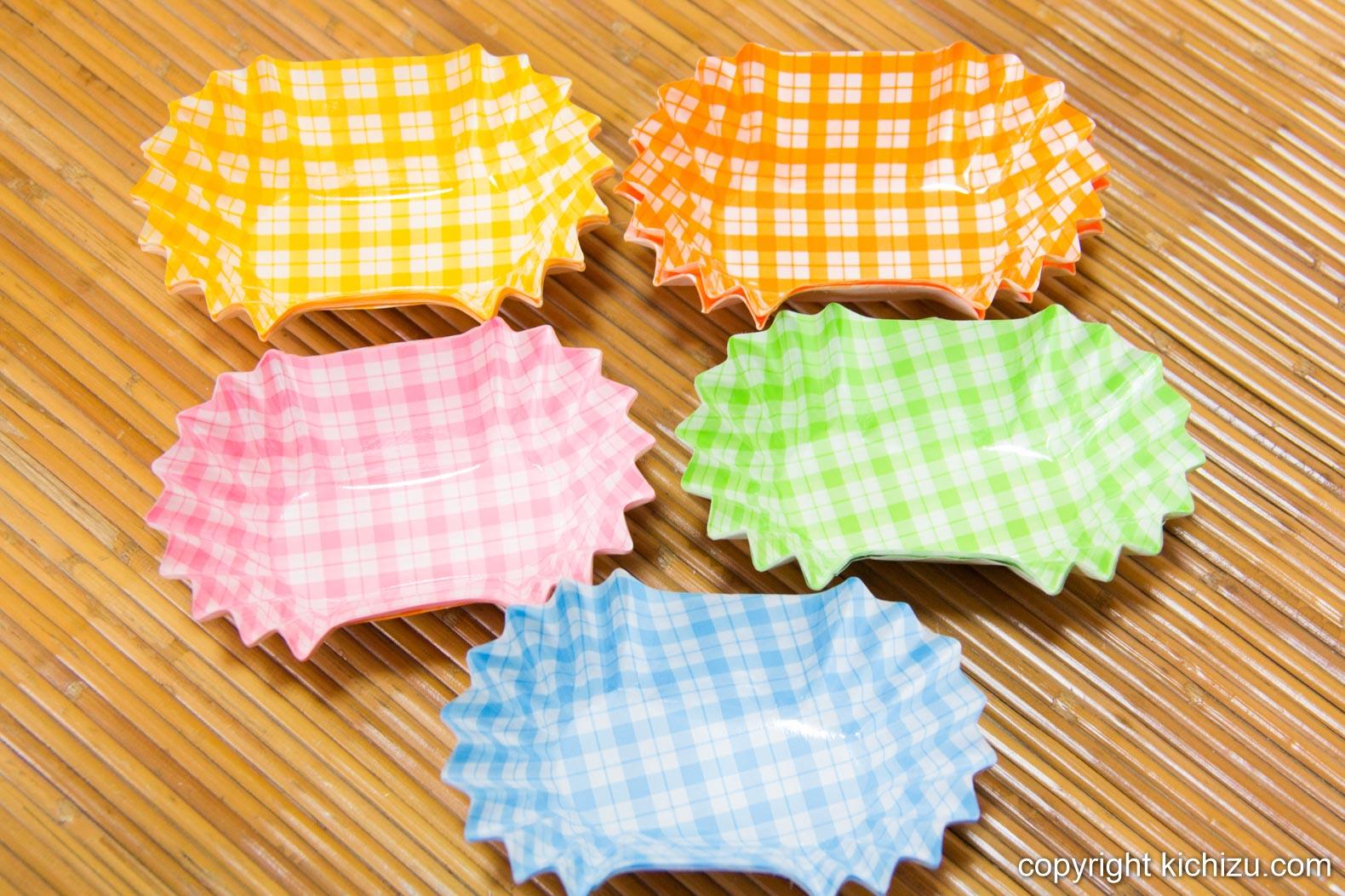 5色のお弁当カップ