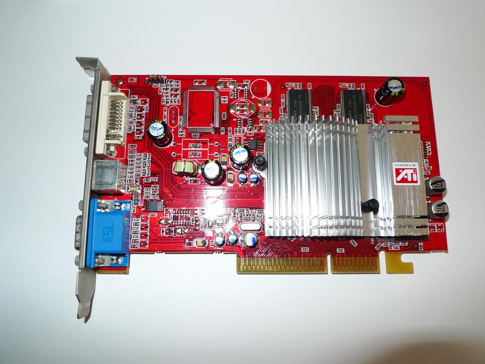 Radeon 9600 128M ビデオカード