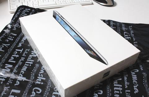 新iPadをヨドバシで予約。ポイント付かず。WiFiも付かず。