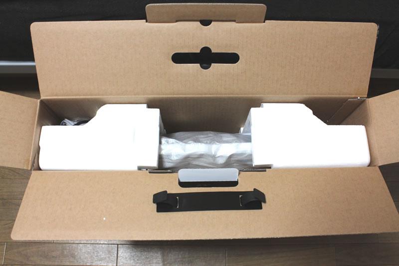 acer g235habidの箱を開けた様子