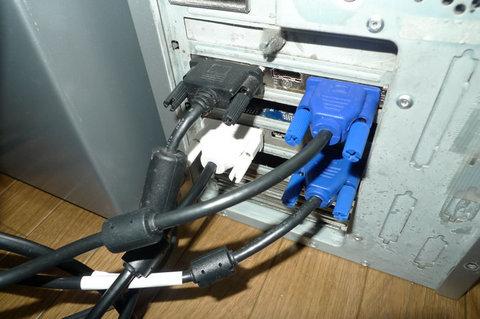 radeon HD4350とHD5450の2枚差しで4モニター(クアッドモニタ)化