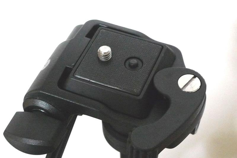バンガード Espod 203APのカメラを設置する台