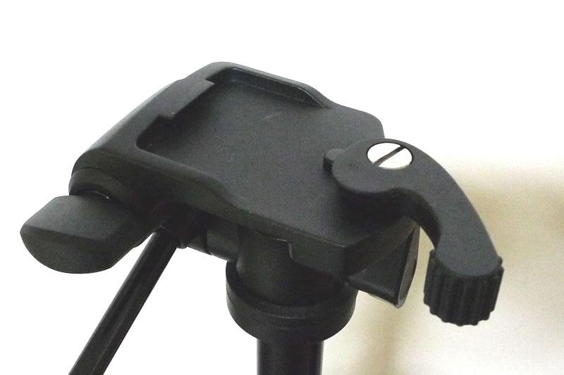 バンガード Espod 203APの台からカメラ側に設置する台を取り除いた状態