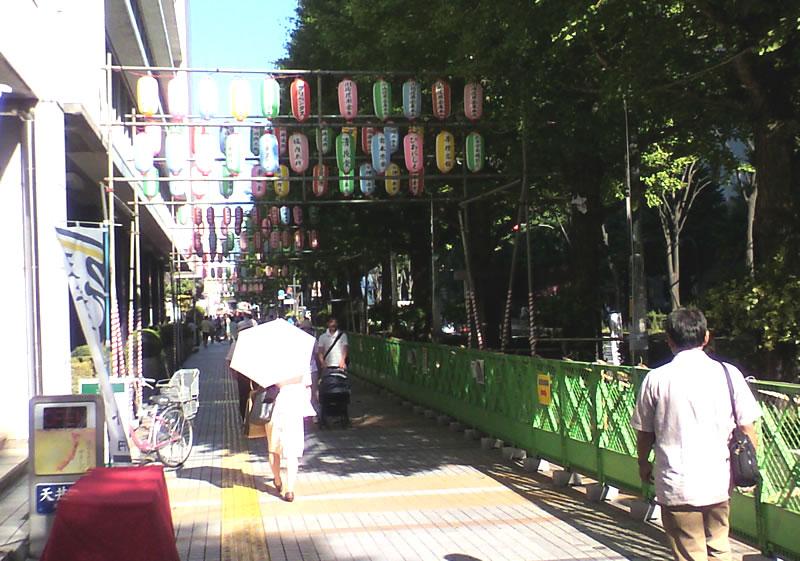 川崎市役所通りの提灯1