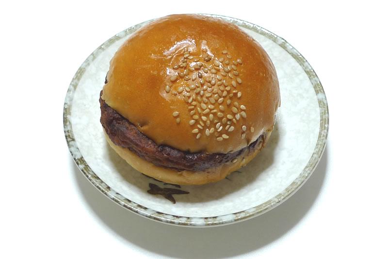 木村屋ベーカリーのハンバーガー