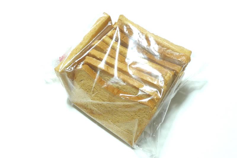 木村屋ベーカリーのこんがり焼いたパン砂糖