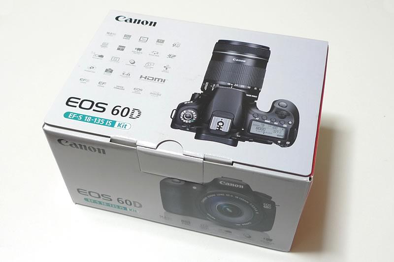 キヤノン EOS 60D EF-S 18-135 IS Kit パッケージ