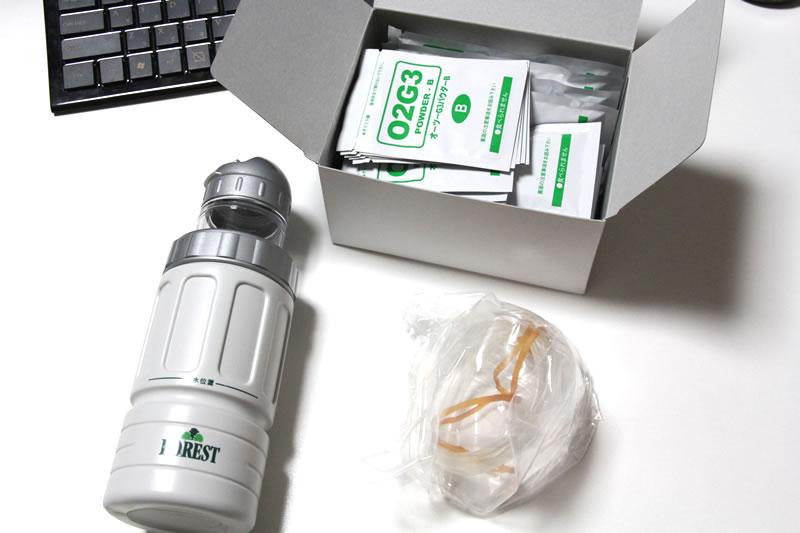 オーツー・フォレストG3本体と酸素発生剤