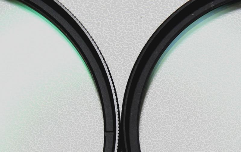 レンズプロテクトターkenko proとdigital kingとの比較レンズ中央アップ