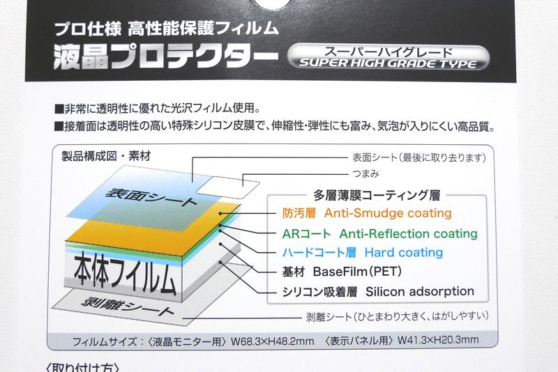 液晶プロテクターの構成図