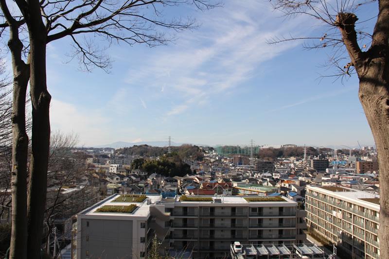 富士見デッキから見た風景