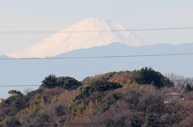 富士見デッキから見た風景 富士山
