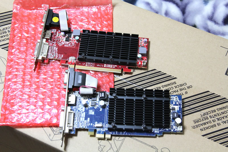 Radeon HD4350とRadeon HD 5450