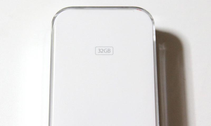 ipodの32Gモデル