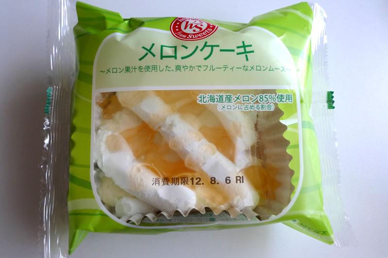 ローソン100円ストア メロンケーキ