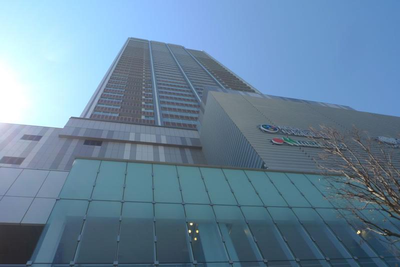 中原図書館が入居するビル エクラスタワー