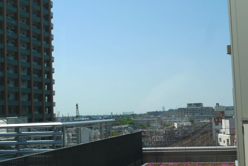 5階から見える景色
