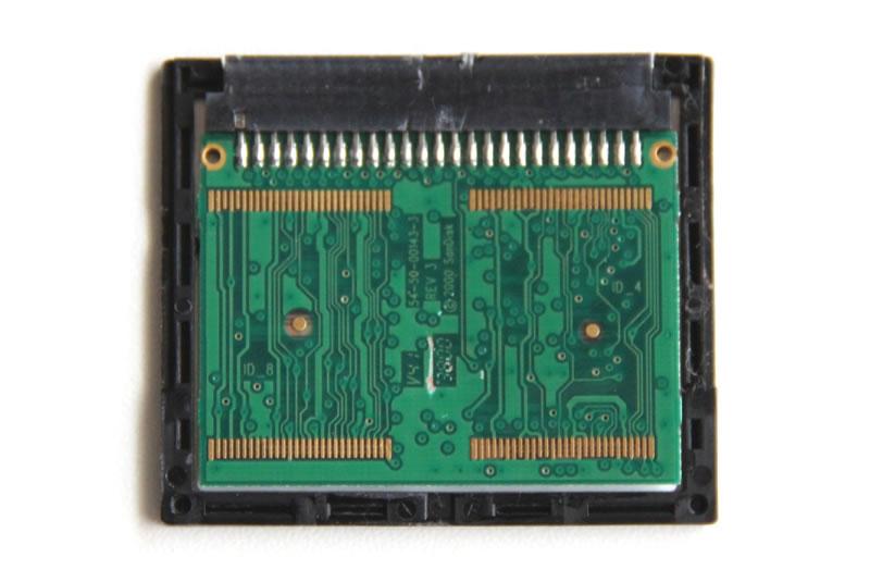 SanDisk CcompactFlash 64MB 裏