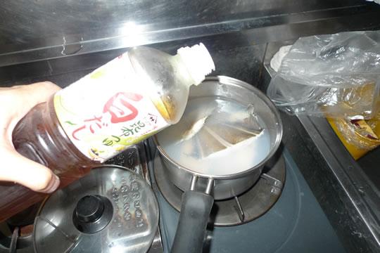 6月18日(火曜)の夕食 カレイの煮つけ 白だし