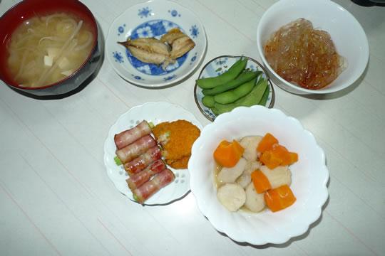 7月09日(火曜)の夕食