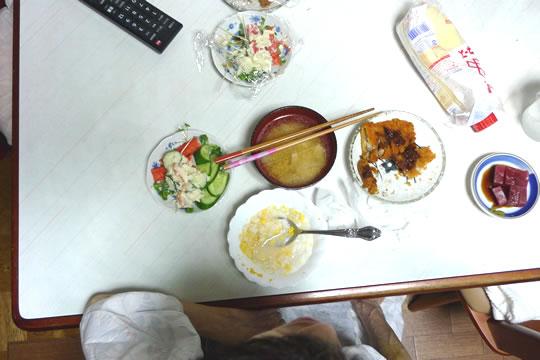 7月15日(月曜)の夕食