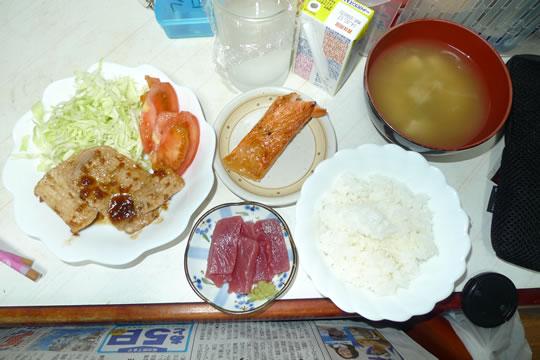 7月28日(日曜)の夕食