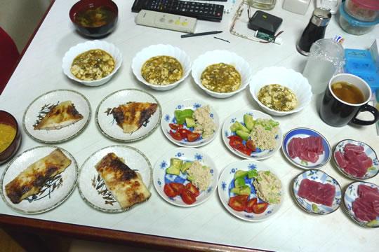 9月11日(水曜)の夕食