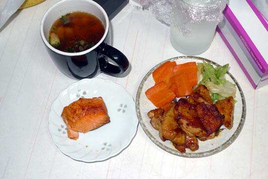 10月5日(土曜)の夕食