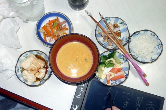 10月06日(日曜)の夕食 母用