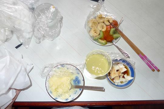 10月07日(月曜)のお昼ご飯
