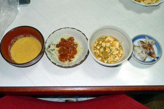 10月07日(月曜)の夕食 母用