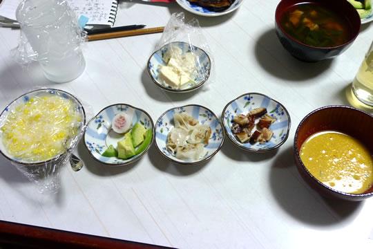 10月07日(火曜)の夕食 母用