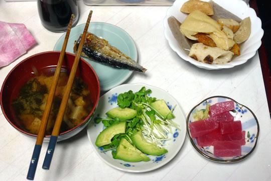 10月09日(水曜)の夕食