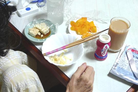10月20日(日曜)の朝・昼ごはん