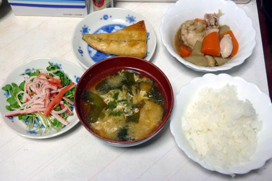 10月20日(日曜)の夕食