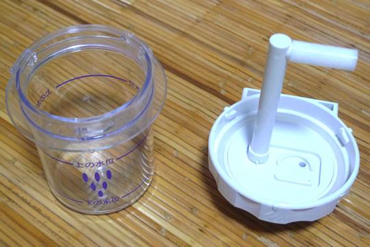 加湿器の容器