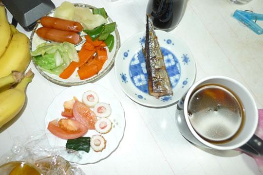 10月3日(木曜)の夕食
