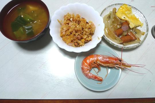 11月1日(金曜)の夕食