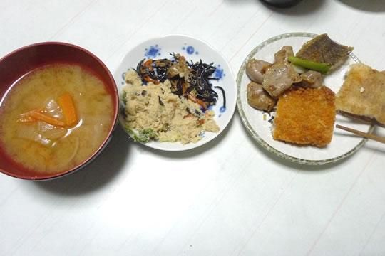 11月6日(水曜)、夕食