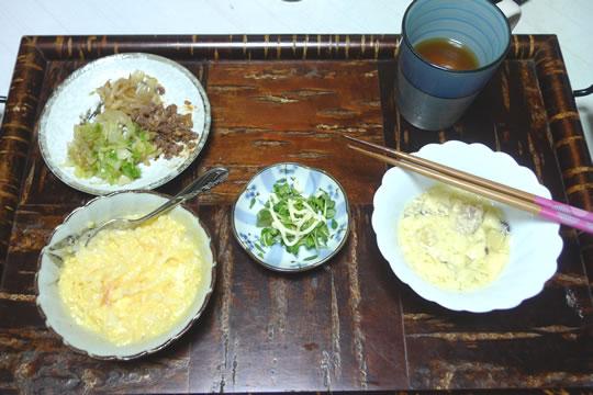 12月1日(日曜)の夕食(母用)