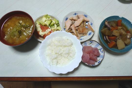 12月6日(金曜)の夕食