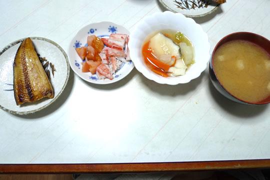 12月14日(土曜)の夕食