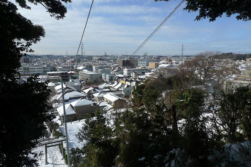 加瀬山から見た風景