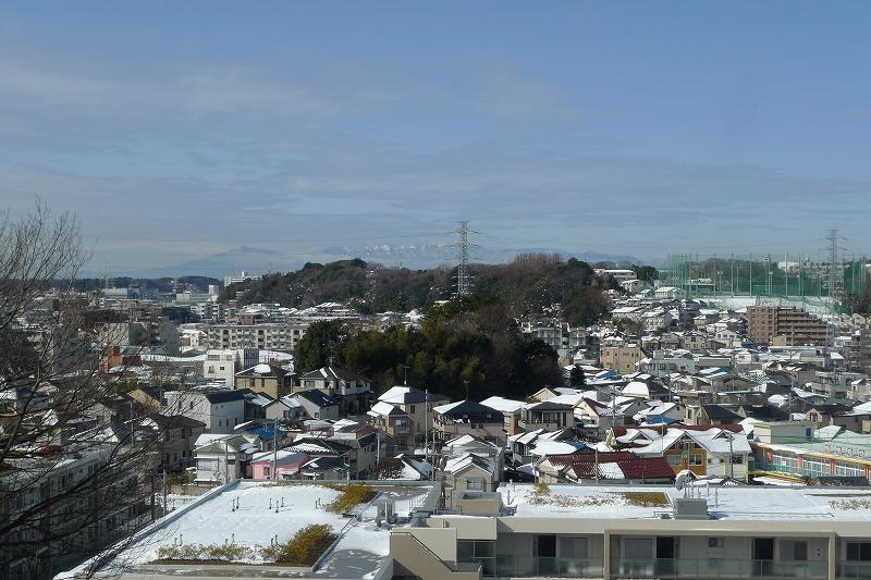 加瀬山から見た西側の富士山側