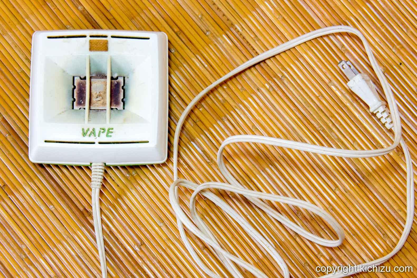 ベープ 電子蚊取りマット正方形型の全体
