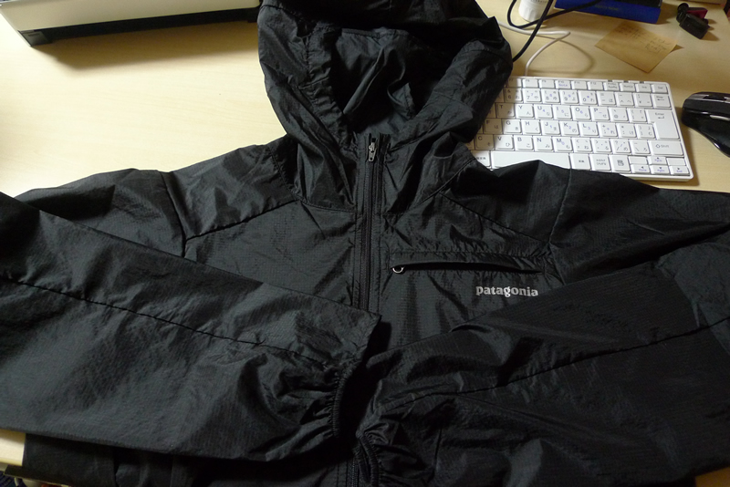 パタゴニアのフーディニ ジャケット