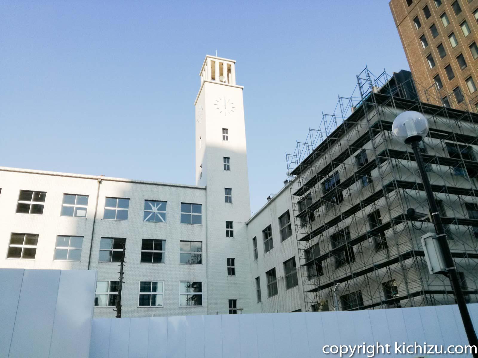 川崎市役所建て壊し