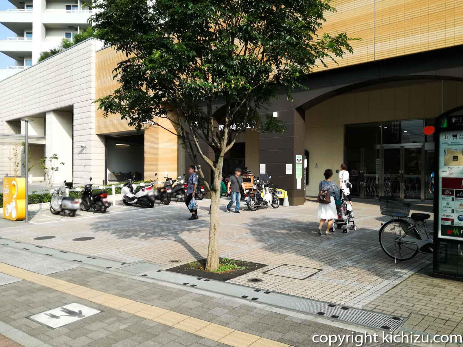 新川崎駅スクエアバイク置場