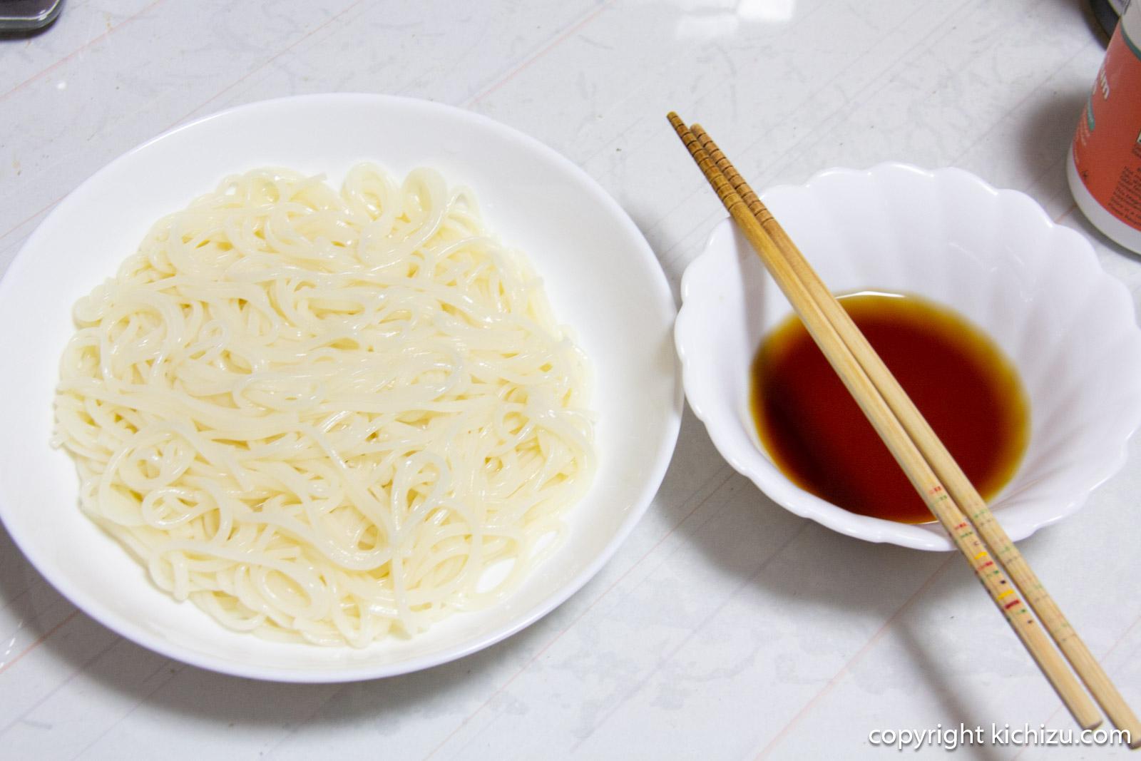 オカベの麺完成